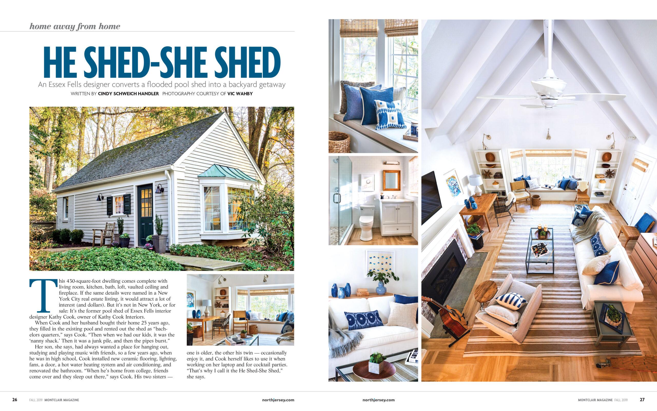 Kathryn Cook in Montclair Magazine