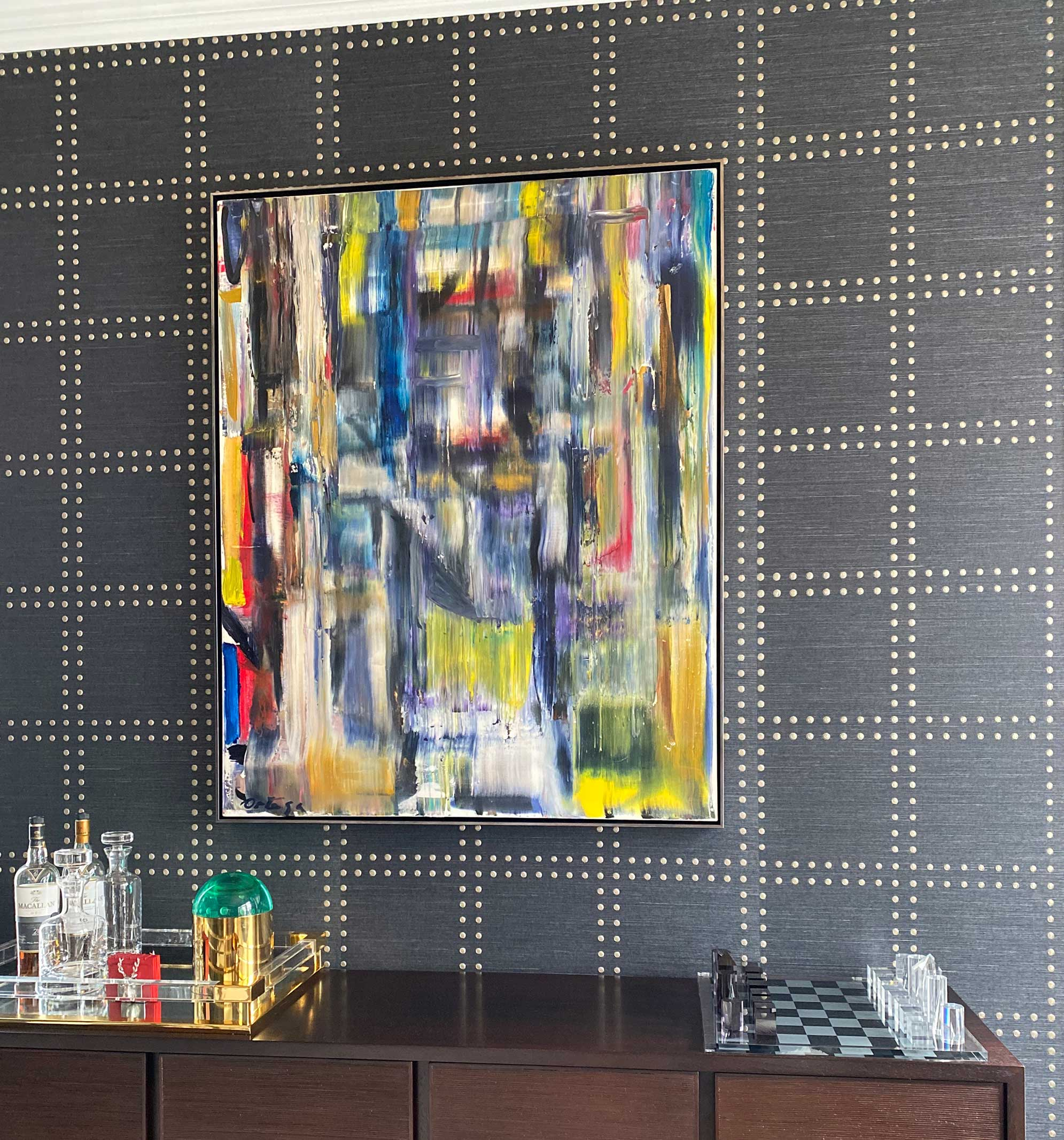 Art and Accessories selection by Kathryn Cook Interiors