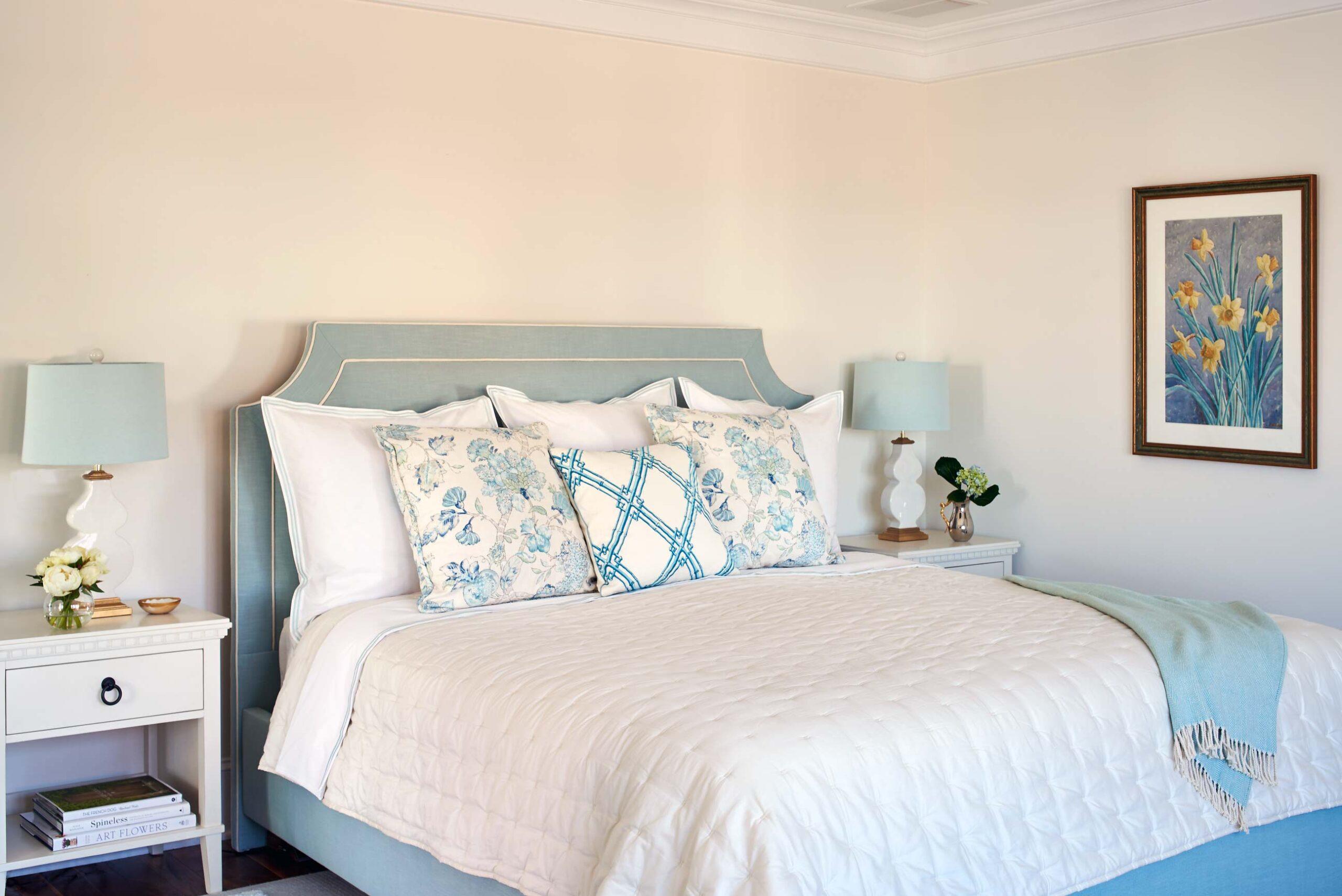 Master bedroom beach house Mantoloking NJ